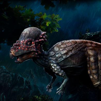 Pachycephalosaurus se consideraba que era un dinosaurio herbívoro, pero posiblemente fuera Omnívoro