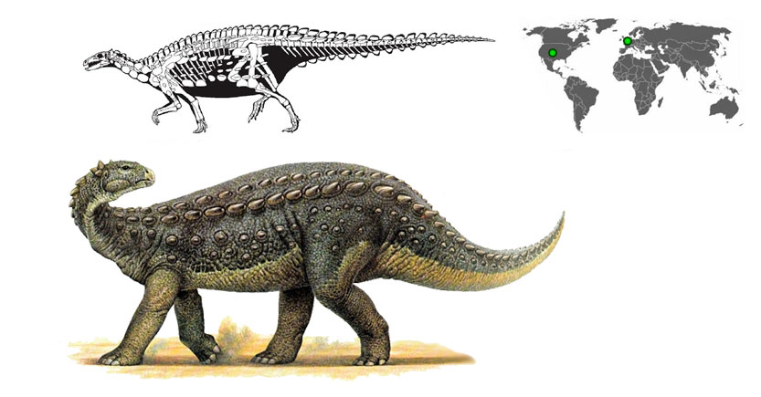 scelidosaurus caminando