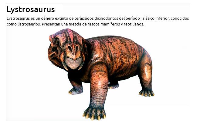 animales del triasico mamiferos y reptiles