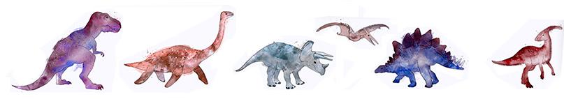 dibujos de dinosaurios para pintar en pdf