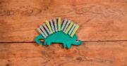 dinosaurios hechos con material reciclable