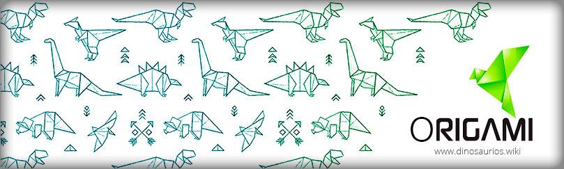 Papiroflexia japonesa - Dinosaurrios Origami