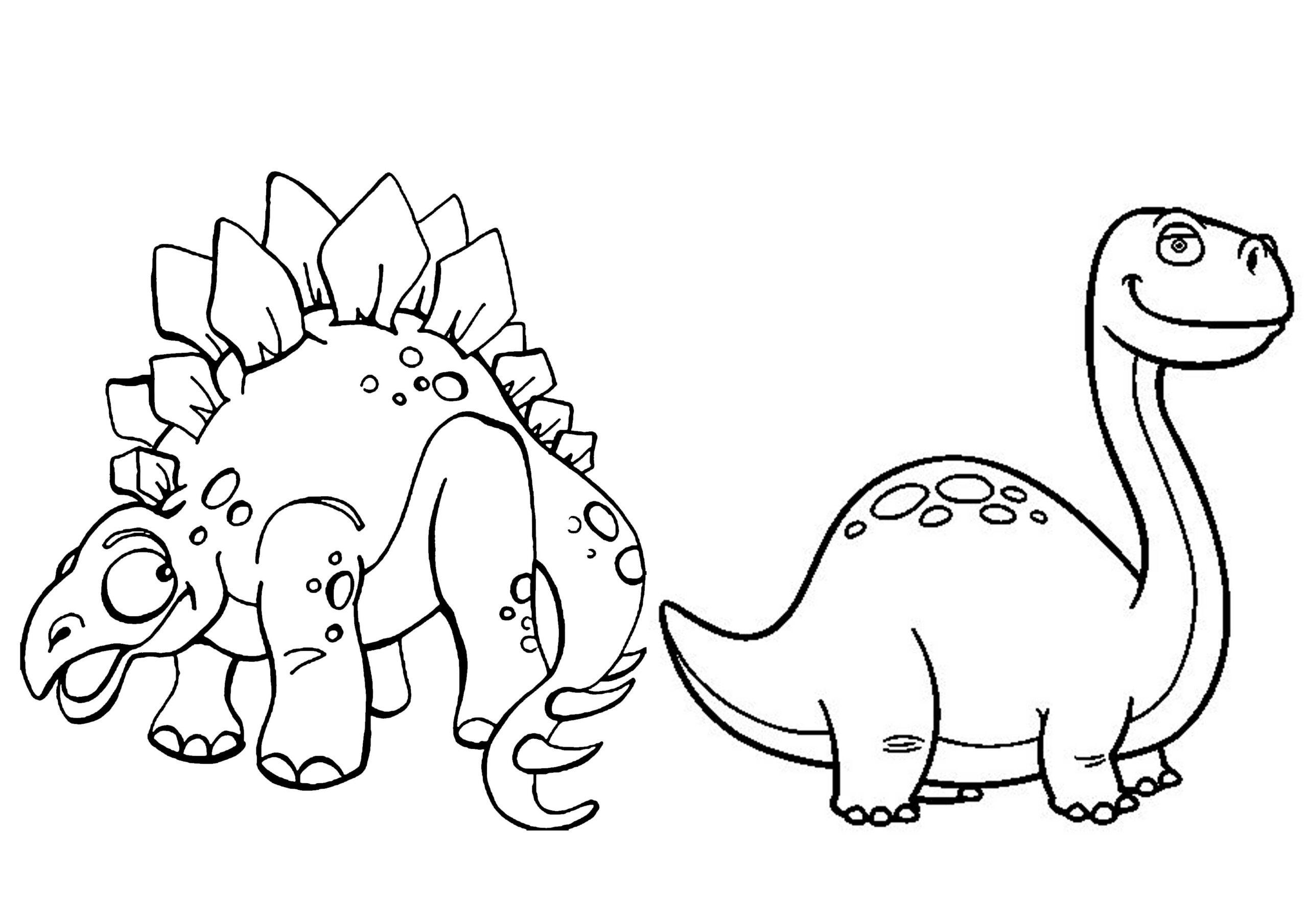 dinosaurios para colorear 4