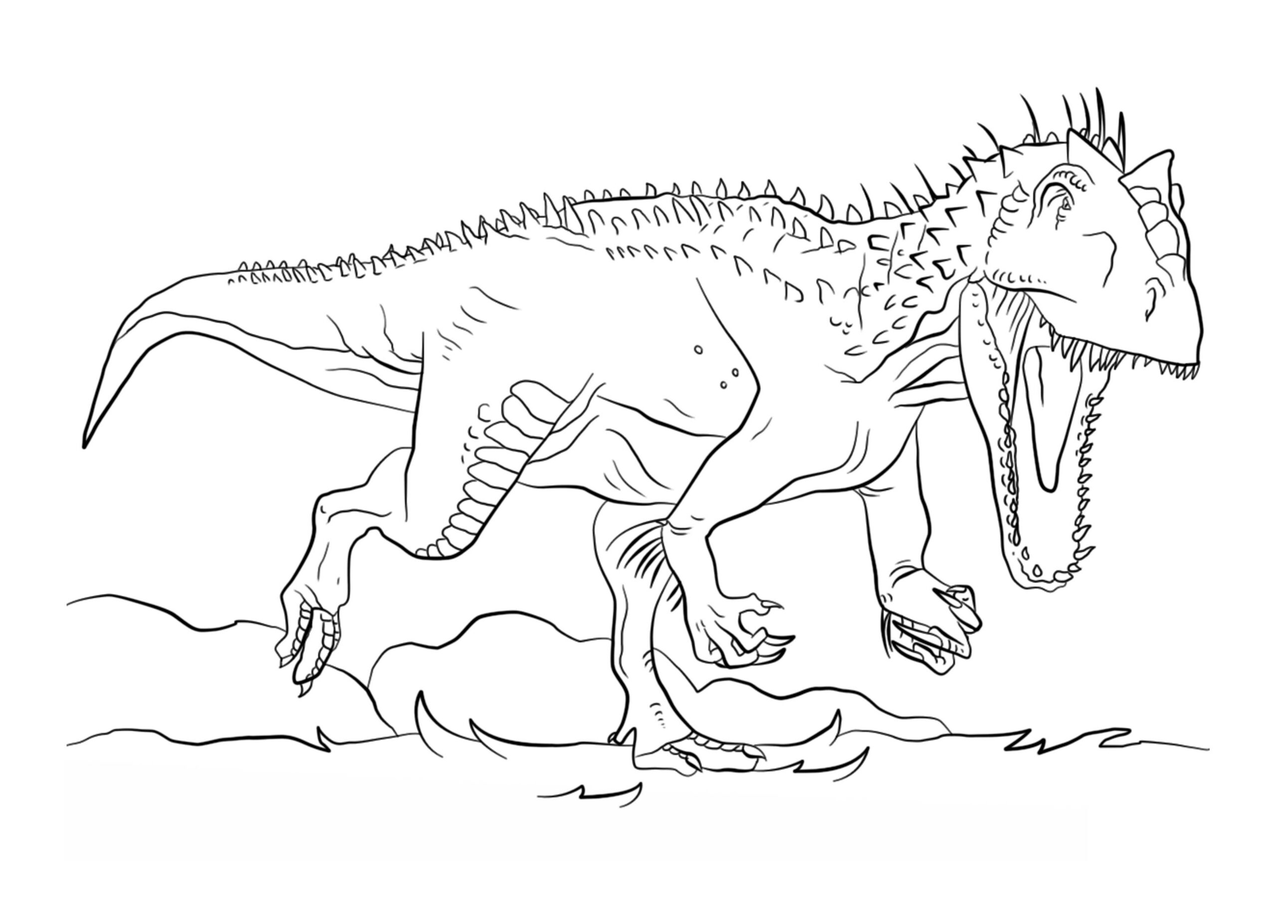 dinosaurios para pintar 4
