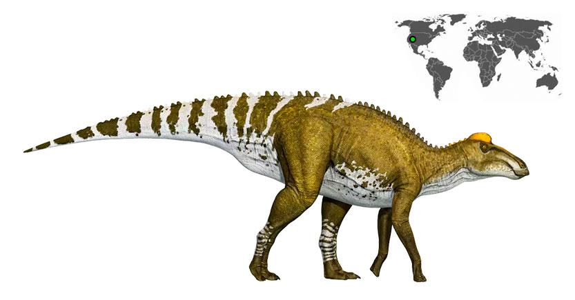 edmontosaurus edmontosaurio