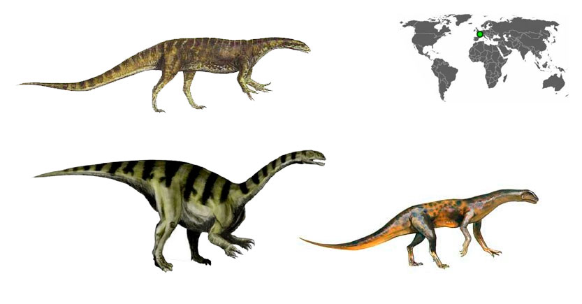 Efraasia minor es uno de los primeros dinosaurios del período Triásico