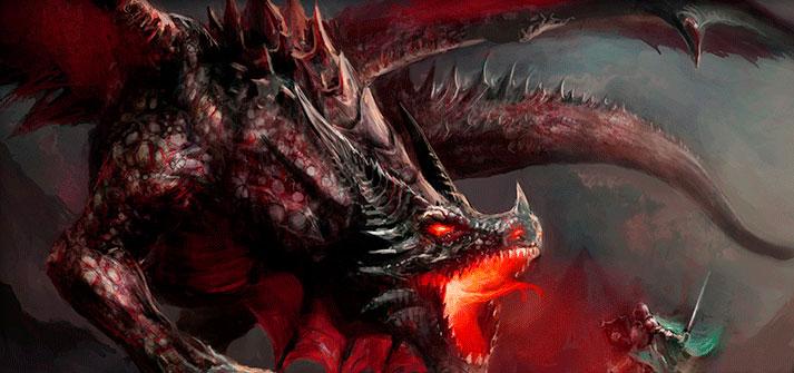 El dragón es un ser mitológico