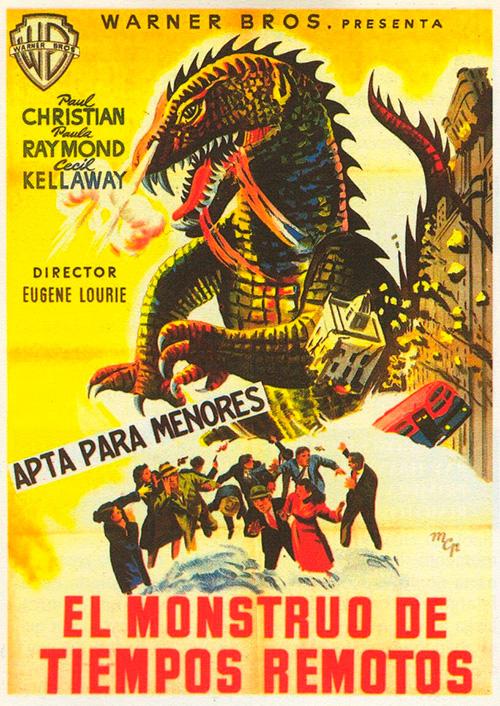 el monstruo de tiempos remotos the beast from 1953