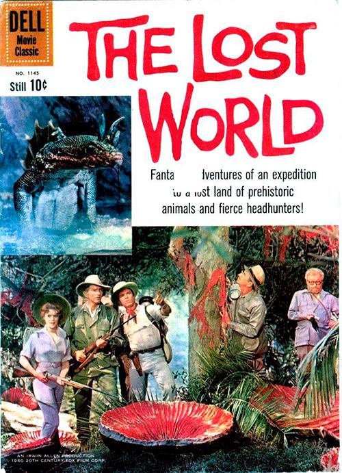 el mundo perdido the lost world 1960