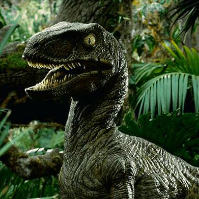 El raptor es un dinosaurio carnívoro