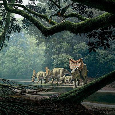 Géneros de dinosaurios herbivóros