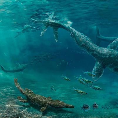 Géneros de dinosaurios marinos