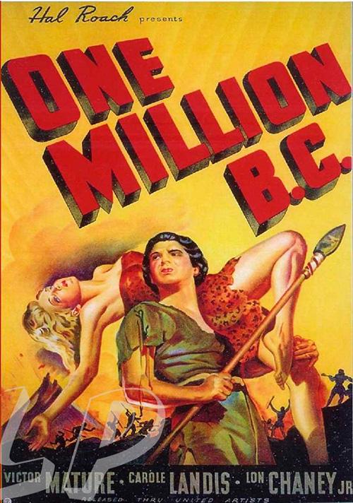 hace un millon de anos one million 1940