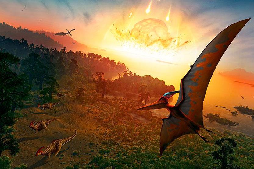 la extincion de los dinosaurios 1