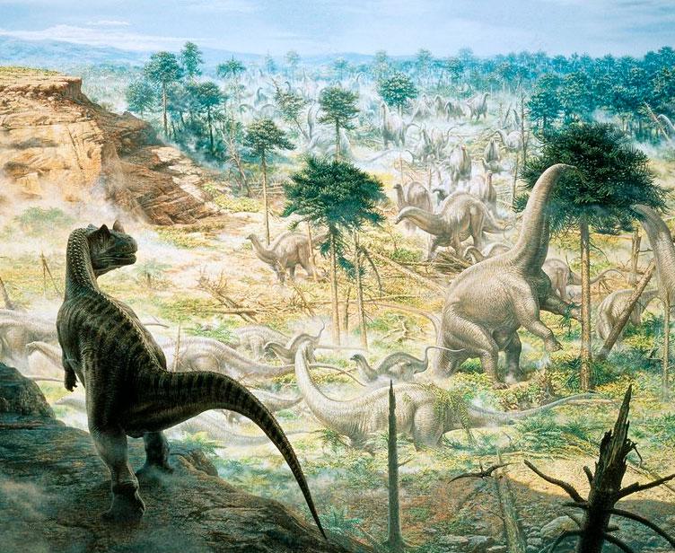 La fauna del periodo Júrasico