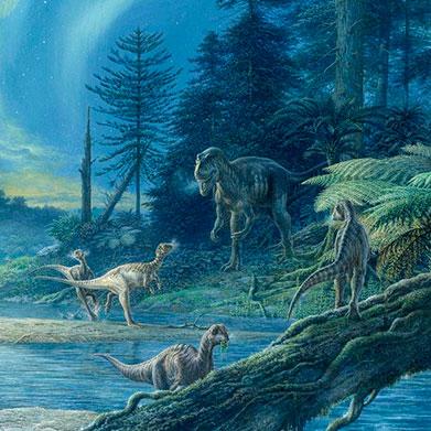 La Fauna (Animales) en el cretáceo