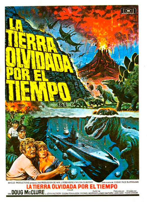 la tierra olvidada por el tiempo the land that time forgot 1974