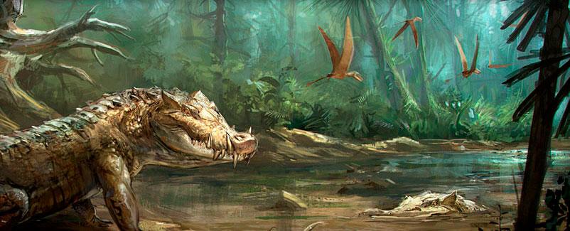 los cocodrilos son dinosaurios 1