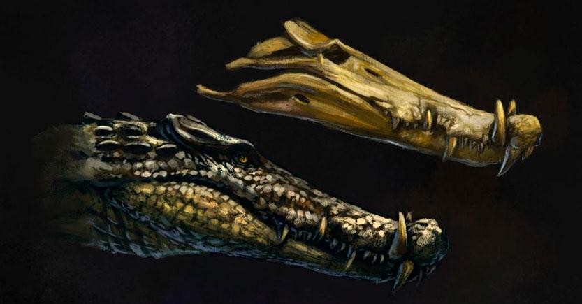 los cocodrilos son dinosaurios