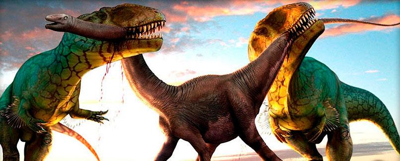 Los dinosaurios carnívoros más grandes