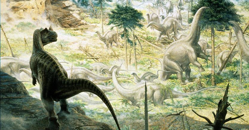 los dinosaurios del jurasico 1