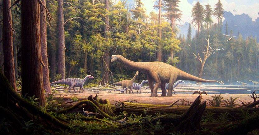 los dinosaurios del jurasico 2