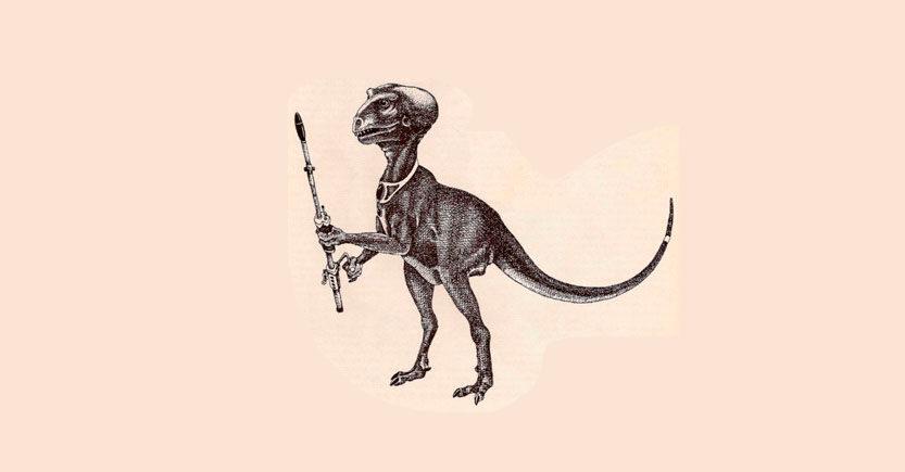 los dinosaurios son reptilianos