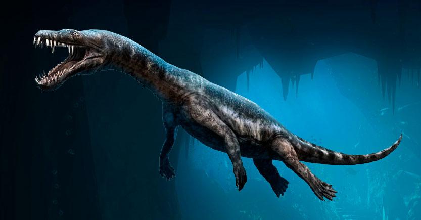 los reptiles acuaticos prehistoricos del periodo triasico