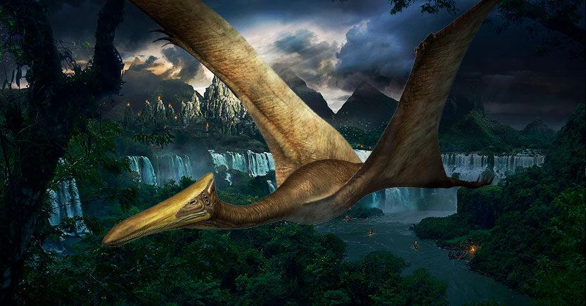 Los reptiles voladores del cretáceo