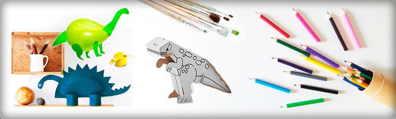 Manualidades con dinosaurios