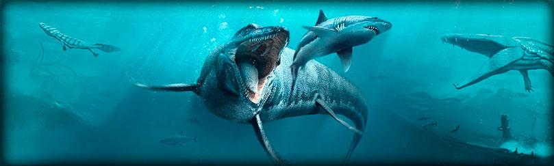 Mosasaurus dinosaurio marino vs megalodon