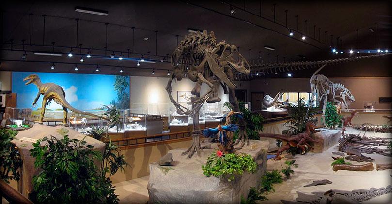 Museos de dinosaurios