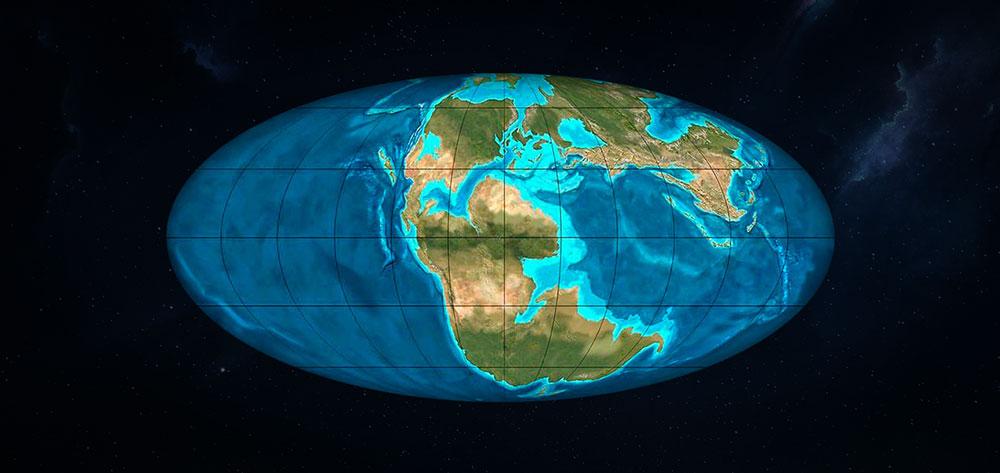 Pangea periodo jurasico medio