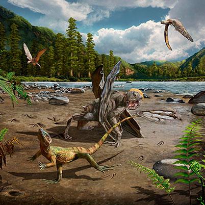 pterosaurios reptiles voladores