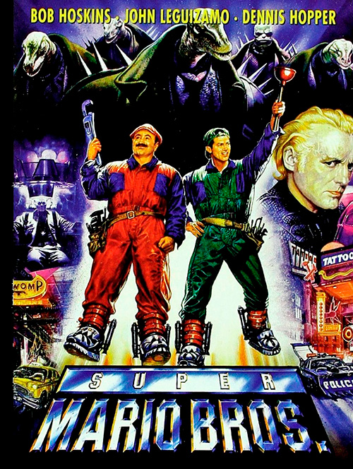 super mario bros 1993