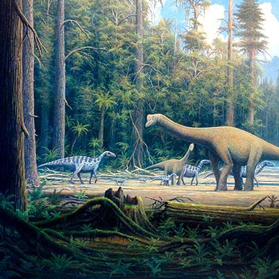 tipos de dinosaurios que existieron
