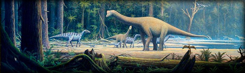 Tipos de dinosaurios, géneros y especies