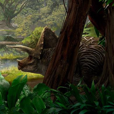 Triceratops pertenecia al grupo de dinosaurios herbívoros